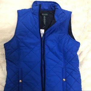 Royal Blue Ralph Lauren Vest
